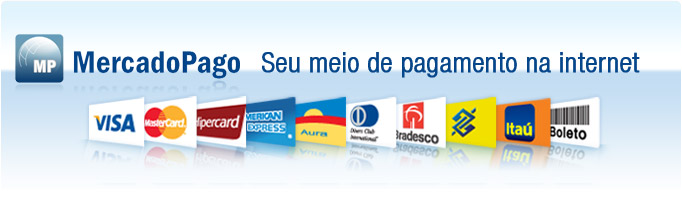 Mercado Pago - Formas de pagamento - by blog.midialoja.com.br